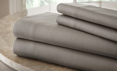 200 Thread Count Solid Sheet Set 100% cotton- Charcoal