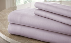 200 Thread Count Solid Sheet Set 100% cotton - Lilac