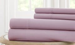600 Thread Count Solid Sheet Set 100% cotton - Lavender