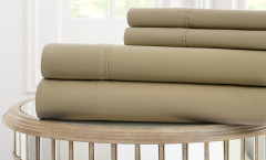 1000 Thread Count Solid Sheet Set 100% cotton - Linen