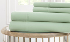 1000 Thread Count Solid Sheet Set 100% cotton - Light Sage