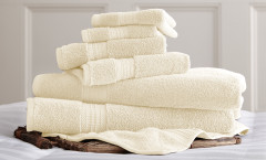 Luxury Spa Collection 6 piece towel SET - Ivory