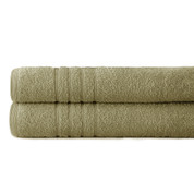 Spa Collection 2 piece OVERsized bath towel SET - Taupe