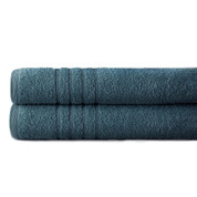 Spa Collection 2 piece OVERsized bath towel SET - Denim Blue