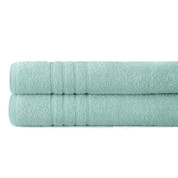 Spa Collection 2 piece OVERsized bath towel SET - Sky
