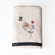 Marche Aux Fleurs - Bath Towel