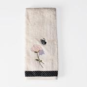 Marche Aux Fleurs - Hand Towel