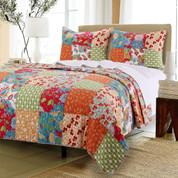 Terra Blossom Quilt Set