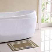 Capri Bath Rug - Beige