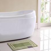 Capri Bath Rug - Green