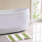 Monte Carlo Bath Rug - Green