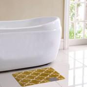 Barcelona Bath Rug - Gold