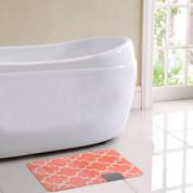 Barcelona Bath Rug - Coral