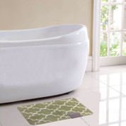 Barcelona Bath Rug - Green