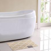 Barcelona Bath Rug - Beige
