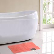 Ibiza Bath Rug - Coral