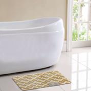 Trento Bath Rug - Gold