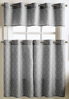 Neiva Kitchen Curtain grey