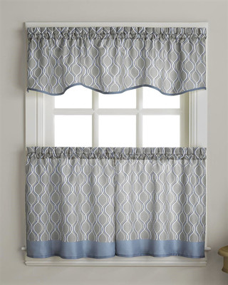 Morocco Kitchen Curtain - Grey from CHF