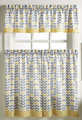 Savannah Kitchen Curtain - Gold