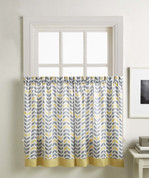 "Savannah 36"" kitchen curtain tier - Gold from CHF"