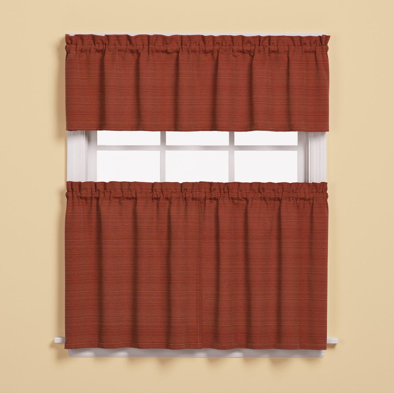 New Kitchen Curtains For Less: Austin Kitchen Curtain