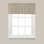 Dexter Kitchen Curtain Valance - Green