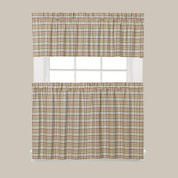 Dexter Kitchen Curtain - Green
