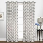 Georgia Grommet Top Curtain pair - Navy