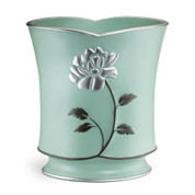 Avanti Wastebasket - Aqua from Popular Bath