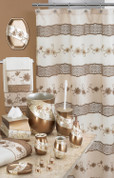 Veronica Shower Curtain & Bathroom Accessories from Popular Bath