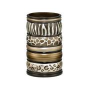 Safari Stripes tumbler cup from Popular Bath