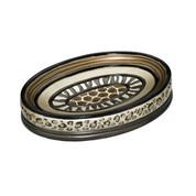 Safari Stripes soap dish from Popular Bath