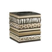 Safari Stripes tissue box cover from Popular Bath