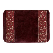 Aubury Bath Rug from Popular Bath - Burgundy