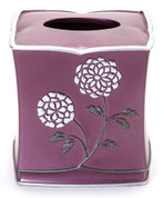 Avanti Tissue Box Cover - Purple from Popular Bath