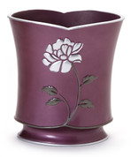 Avanti Wastebasket - Purple from Popular Bath