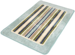 Contempo Bath Mat Rug - Blue