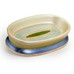 Contempo soap dish - Blue from Popular Bath