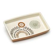 Suzani Soap Dish - Gold