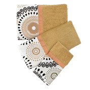 Suzani 3pc Towel Set - Gold