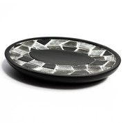 Mosaic Soap Dish - Black