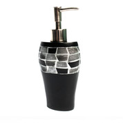 Mosaic  Lotion Dispenser - Black