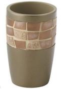 Mosaic Tumbler - Bronze