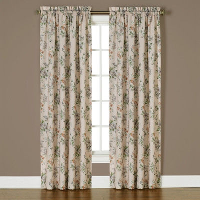 Nellie Rose Rod Pocket Curtains (2 panels shown)
