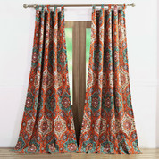 Sofia tab top curtain pair from Greenland Home Fashions