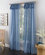 "Breeze Tab Top Curtain Panel 63"" long from Lorraine Home Fashions"