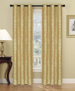 Carlisle Grommet Top Curtain Panel - Gold