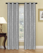 Carlisle Grommet Top Curtain Panel - Graphite