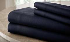 200 Thread Count Solid Sheet Set 100% cotton - Indigo